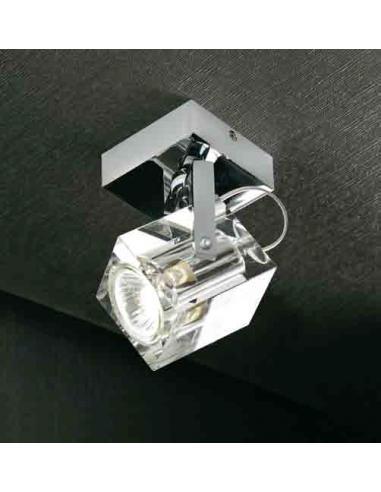 PRISMA Faretto orientabile da parete o soffitto