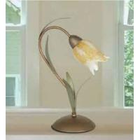 Po Chandeliers 471/L1 Frida Table Lamp Abat-Jour Glass/Metal