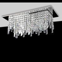 Affralux 2183 Ceiling Light Fringe 8 Lights Chrome