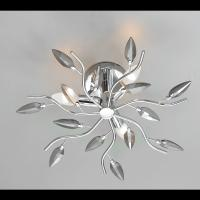 Ceiling light CRYSTALLIVS chrome 8 lights d.86