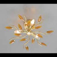 Plafoniera CRYSTALLIVS oro 3 luci d.43