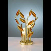 Affralux 2091 GOLD table lamp Crystallivs Gold