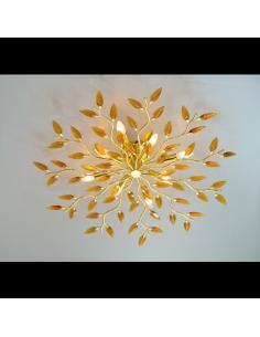 Plafoniera CRYSTALLIVS cromo 6 luci d.70