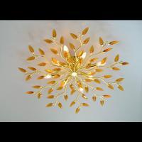 Affralux 2088 GOLD Ceiling light Crystallivs Gold 8 Lights D86