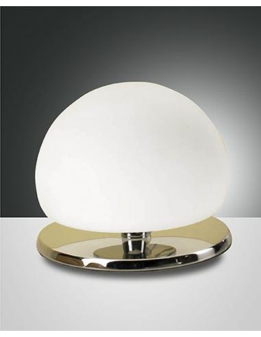 Morgan Chrome Table Lamp