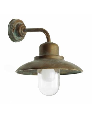 Lantern Brass, clear glass