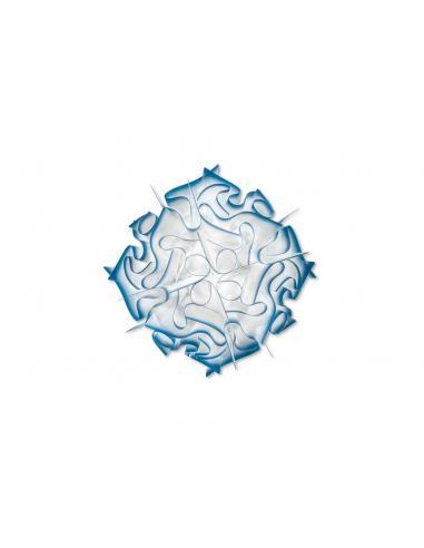 VELI CEILING/WALL LAMP LIGHT BLUE (SKYBLUE)