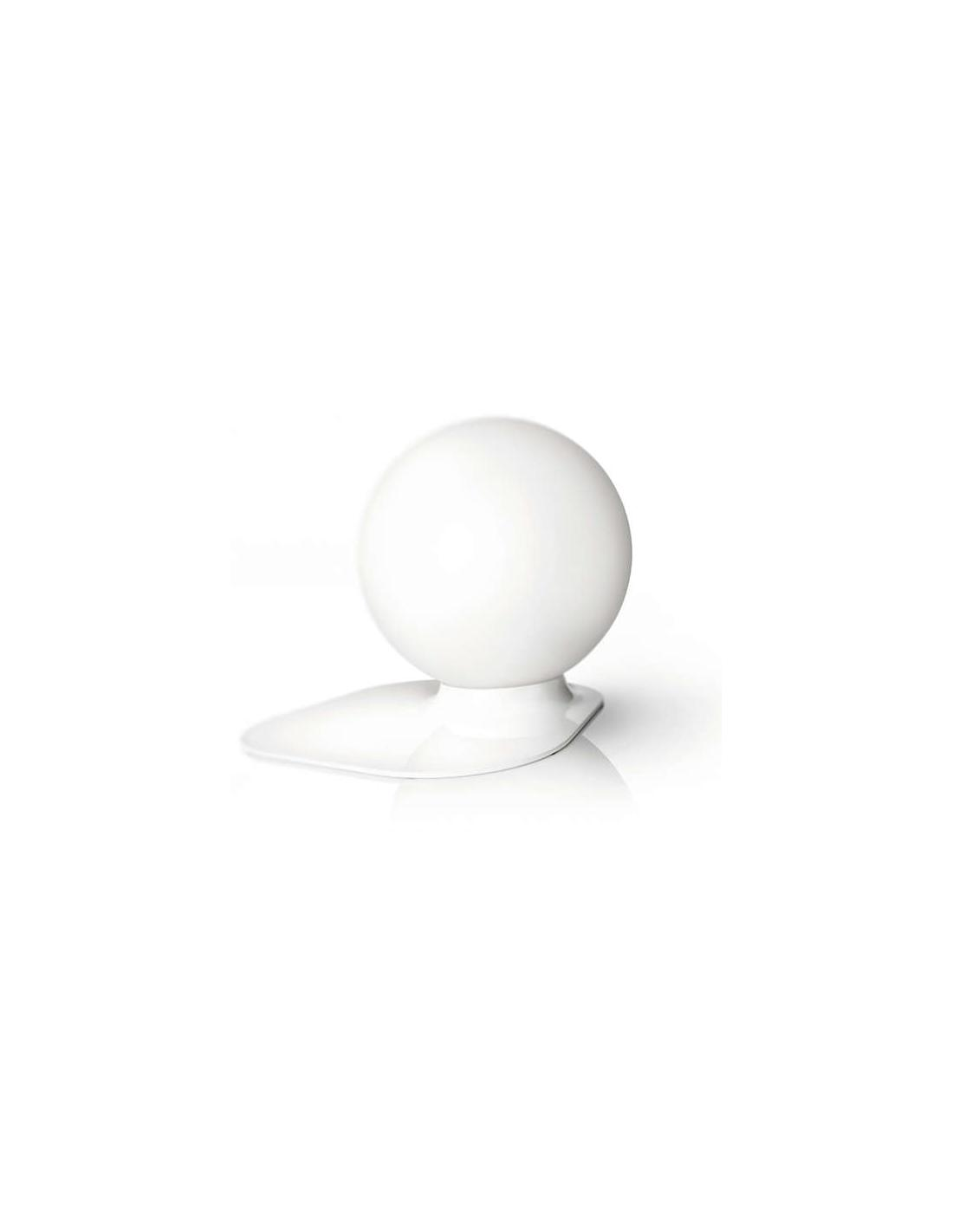 Philips 432113116 Lampada Da Tavolo Base Bianca Palla Vetro
