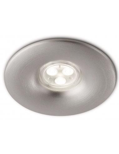 Spot singolo da incasso singolo alluminio - 1 High PowerLED