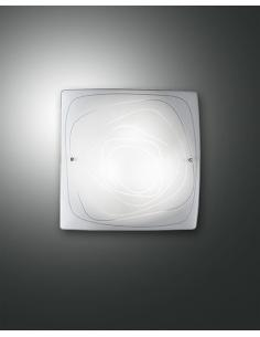 LYNN LAMP CEILING WHITE 30x30