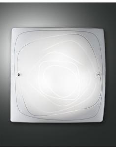 LYNN LAMPADA SOFFITTO WHITE 50x50