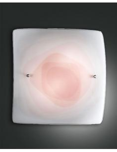 LYNN LAMP CEILING RED 50x50