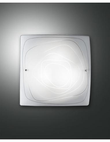 LYNN LAMP CEILING WHITE 40x40