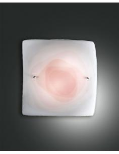 LYNN LAMP CEILING RED 40x40