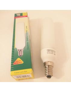 LAMPADINA 10W TUBOLARE E14 RISPARMIO