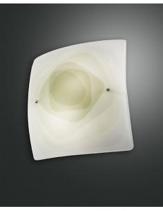LYNN LAMP CEILING GREEN 40x40