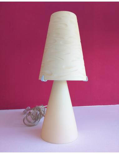 FIESTA AMBER TABLE LAMP