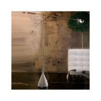 TECNA FLOOR LAMP WOOD BASE CLEAR
