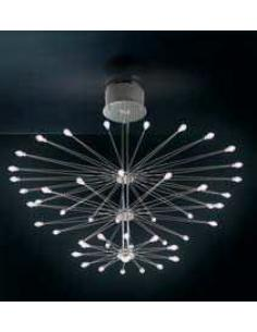 ELETTRA CHANDELIER, 42 LIGHTS WITH BULBS