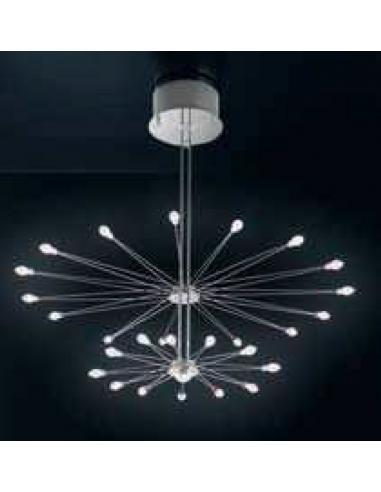 ELETTRA LAMPADARIO 24 LUCI CON LAMPADINE