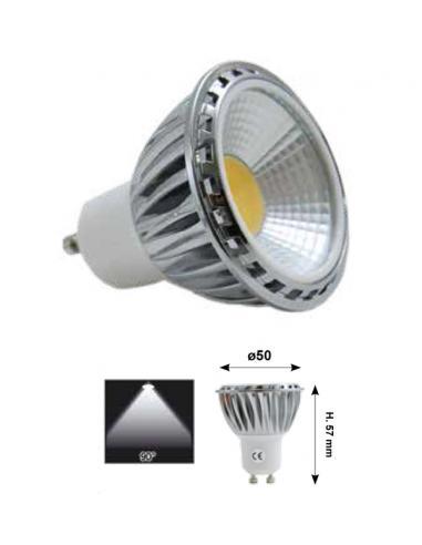 LED bulb COB 5W 230V dimmable warm white