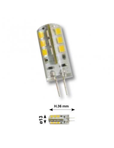Lampadina BISPINA LED copertura in silicone - attacco G4