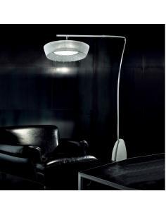 PARIS FLOOR LAMP ARC PARAL WHITE