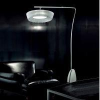 Sillux PI3/241B Parigi Lampada da Terra Arco Colore Bianco