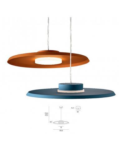 360, sospensione circolare LED