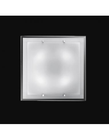 CEILING light GLASS WHITE 50x50cm