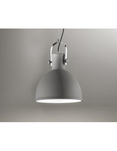 SUSPENSION IN PAINTED METAL GREY COLOR
