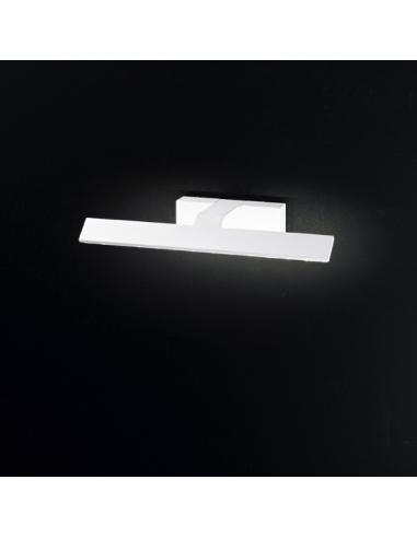 APPLIQUE IN METALLO VERNICIATO COLORE BIANCO L36,5cm