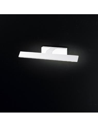 APPLIQUE IN PAINTED METAL WHITE COLOR L36,5cm