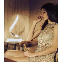 Mantra 4986 Nur Table Lamp with Integrated Led-Chrome/Silver