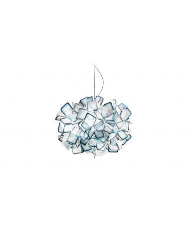 CLIZIA SUSPENSION LAMP BLU