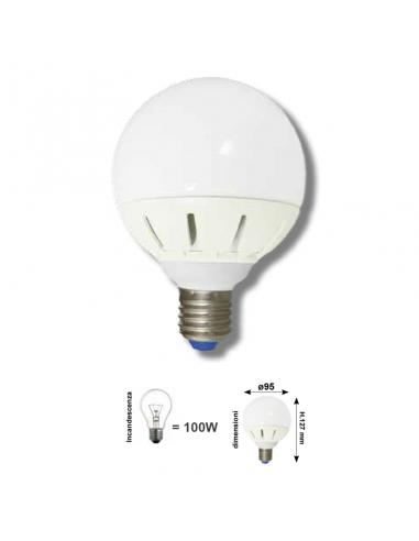 GLOGO D. 95 E27 16W 1350Lm LED COLOR WARM WHITE