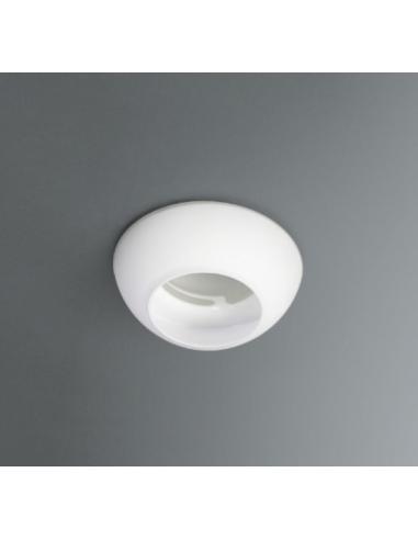 [LOTTO 19PZ] SIGMA - Spot incasso singolo, vetro bianco lucido