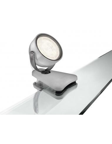 Dyna - Clip spot LED 3W grigio