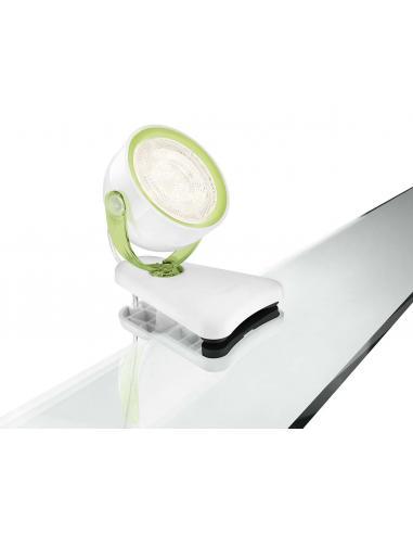 Dyna - Clip spot LED 3W verde