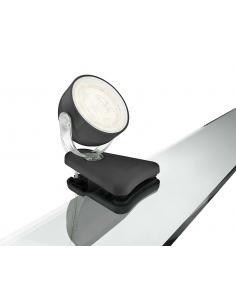 Dyna - Singolo spot clip LED 3W nero