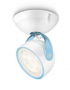 Dyna - Spot singolo LED 3W azzurro