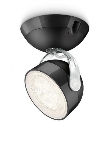 Dyna - Singolo spot LED 3W nero