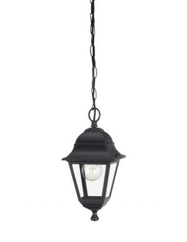 Lima - Sospensione lanterna nera