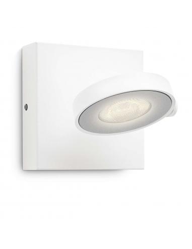 Clockwork - Spot singolo LED bianco