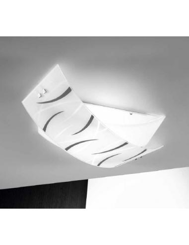 AGNES, Ceiling light medium black