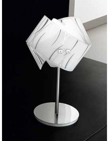 AGNES table lamp white