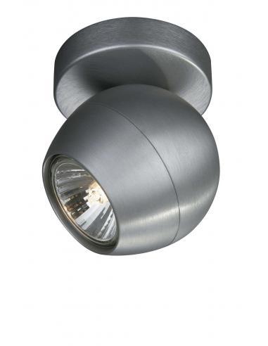 PLANET Spot singolo base alluminio