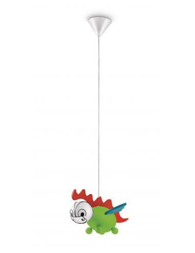 Drakey - Suspension dragon multicolor
