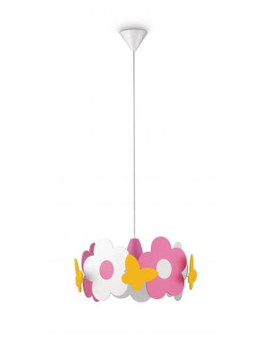 Iridia - Sospensione baby fiori legno multicolor
