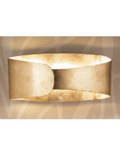 BELT applique foglia oro
